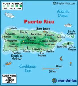 Carte de Puerto Rico