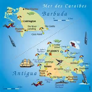Plan Barbuda et Antigua