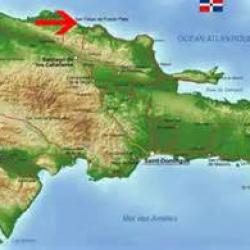 Carte république Dominicaine (Amber Cove)