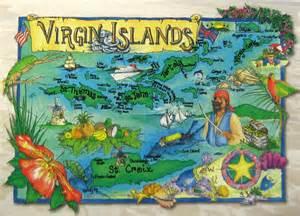 Carte virgin islands
