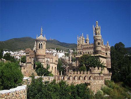 Chateau de Colomares à Benalmadena