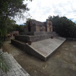 Reconstitution temple Maya