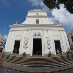 Eglise à Porto Rico (old san Juan)