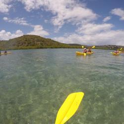 Pfeuuu... toujours en kayac, fatiguant mais beau !