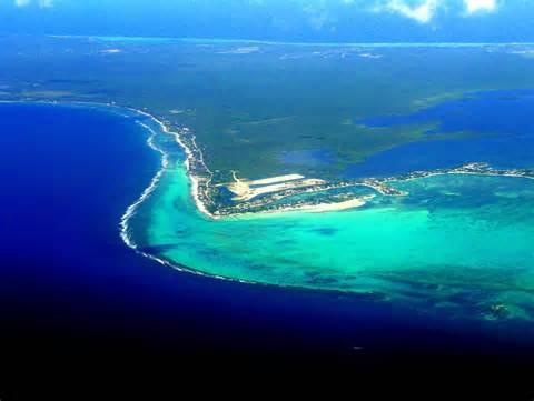 Grand Cayman vue du ciel