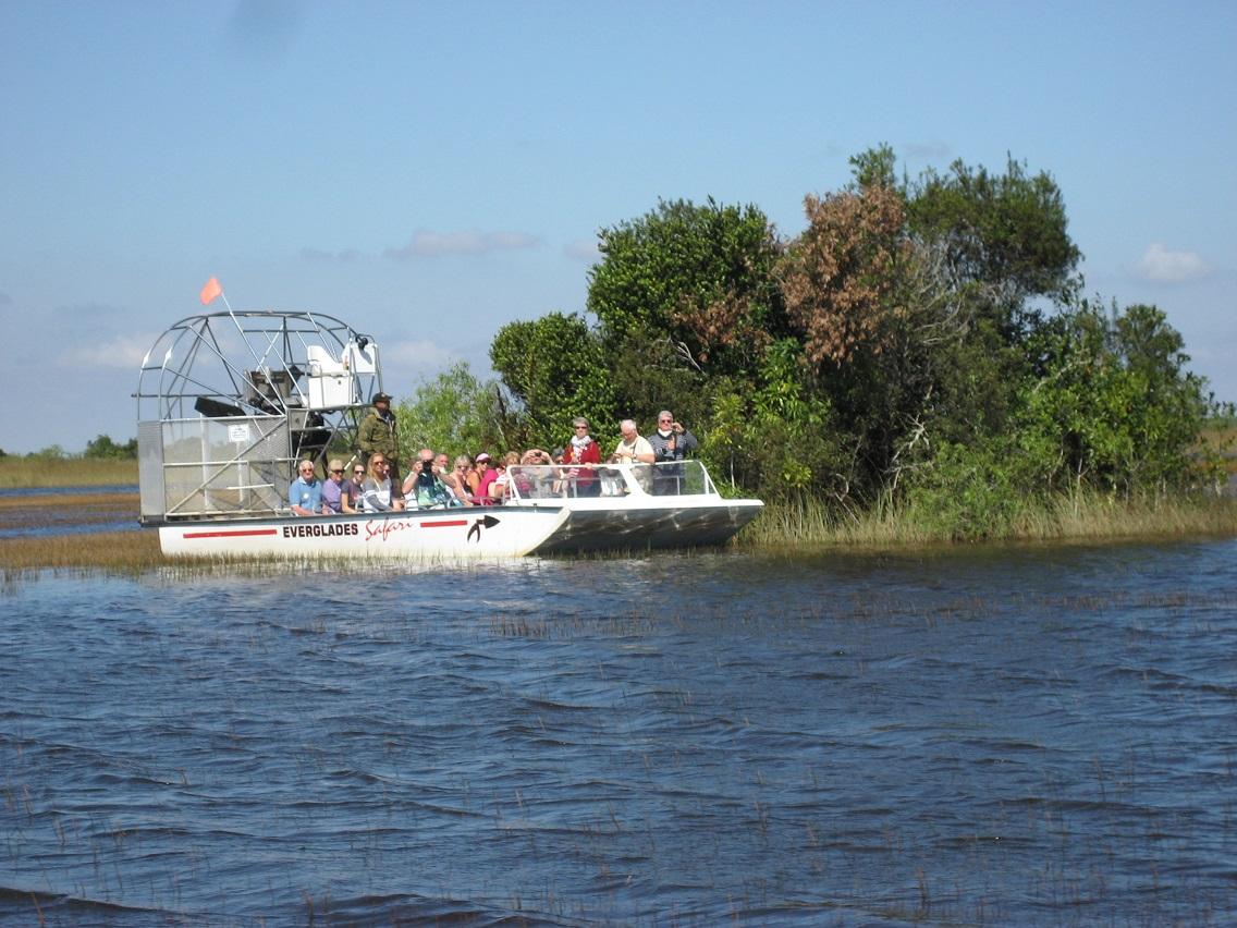 Balade aéroglisseur Everglades