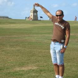 En allant au chateau de San Juan