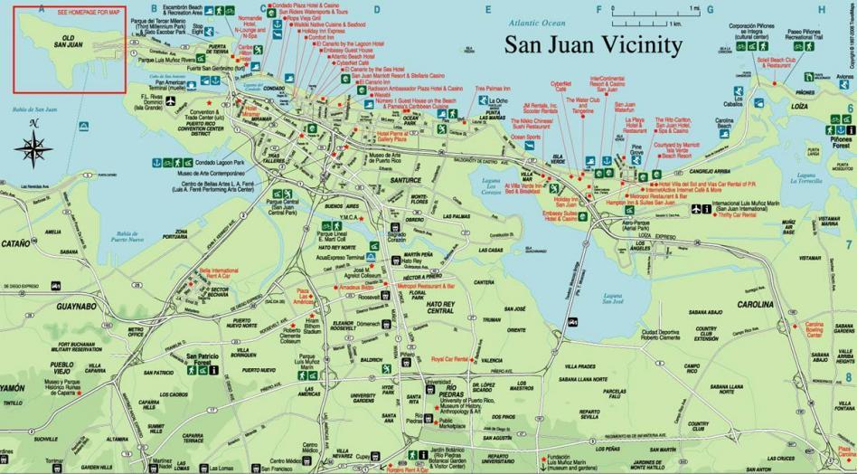 Mapa san juan porto rico 1