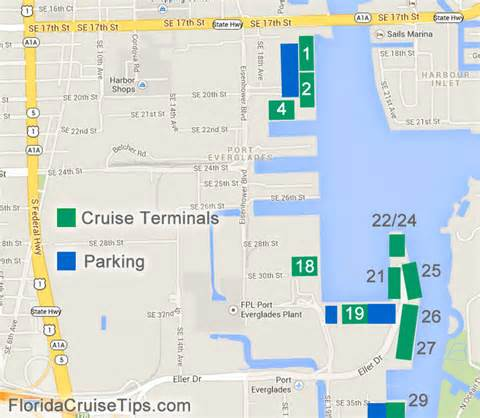 Plan port everglades