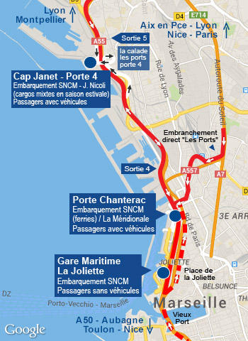 Port de marseille - Port embarquement croisiere marseille ...