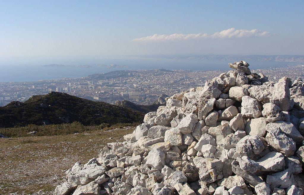 Marseille vue du Mont St Cyr