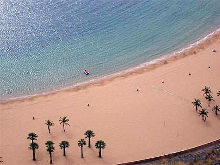 Sahara à la plage