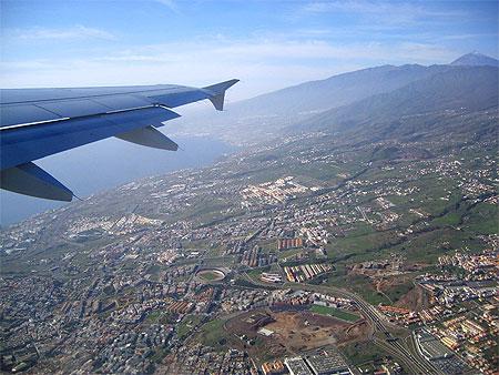 Santa Cruz vue du ciel