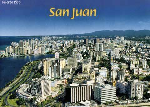 La ville de San Juan